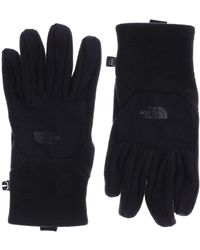 The North Face Denali Etip Camouflage Acrylic Gloves - Black