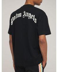 Palm Angels T-shirt Mit Patch, Lvr Exclusive - Schwarz