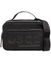 DSquared² Dsq2 ナイロンクロスボディバッグ - ブラック