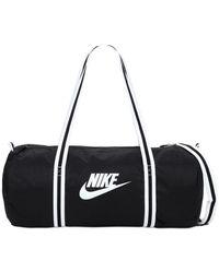 Nike Heritage Duffle Bag - Black