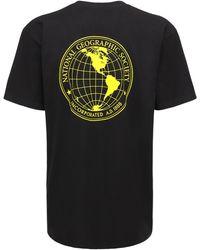 Vans National Geographic ジャージーtシャツ - ブラック