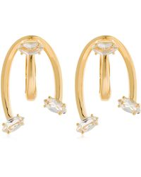 Bea Bongiasca - Caprifoglio - Love Ties Gold Earrings - Lyst