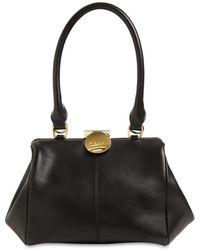 Marni Md Doctor Smooth Leather Top Handle Bag - Black
