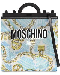 Moschino - Sac Cabas Moyen Imprimé - Lyst