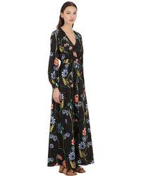 Borgo De Nor - Francesca Vintage Floral クレープドレス - Lyst