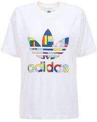 adidas Originals - Pride Flag Fill Tシャツ - Lyst