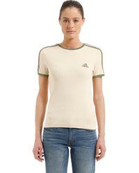 Yeezy T-shirt Aus Baumwolljersey Im Baby Fit - Natur