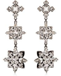 Ellen Conde - Brilliant Jewelry Crystal Earrings - Lyst