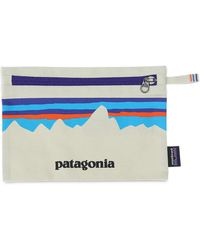 Patagonia Pouch Aus Bio-baumwolle - Blau