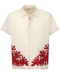 Bode Lvr Sustainable コットンシャツ - マルチカラー