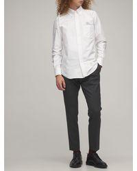 Thom Browne コットンオックスフォードシャツ - ホワイト