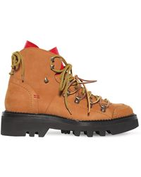 DSquared² - 50mm Nubuck Hiking Boots - Lyst