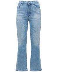 "J Brand Jeans Mit Hoher Taille ""franky"" - Blau"
