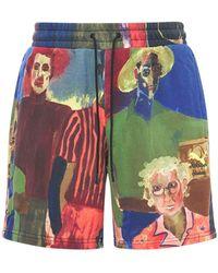 "PUMA Shorts Aus Baumwolle ""kidsuper Studios Aop"" - Mehrfarbig"