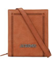 Jacquemus Leather Wallet - Brown