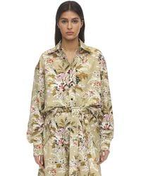Colville Floral Print Cotton Shirt - Mehrfarbig