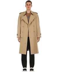 Burberry Westminster-trenchcoat Aus Baumwolle - Natur
