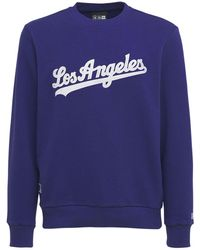 KTZ Mlb X La Dodgers Sweatshirt - Blue