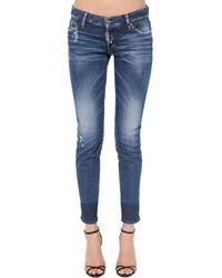 """DSquared² Jeans """"Jennifer"""" Medium Clean Wash - Blu"""