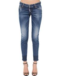 DSquared² Medium Clean Wash Jennifer Jeans - Blue