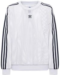 adidas Originals メッシュスウェットシャツ - マルチカラー