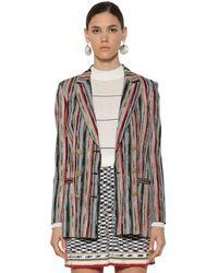 Missoni Трикотажный Пиджак Из Шерсти - Многоцветный