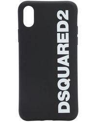 DSquared² ロゴプリント Iphone X ケース - ブラック