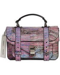 Proenza Schouler Сумка Ps1 Tiny Limited Edition - Пурпурный