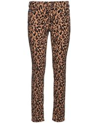 Versace Jeans ストレッチデニムスキニージーンズ - ブラウン