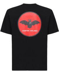 Undercover コットンジャージーtシャツ - ブラック