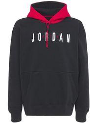 Nike - Jordan Air フリーススウェットフーディー - Lyst