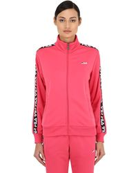 2bc89066 Talli Track Jacket W/ Logo Side Bands - Pink