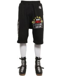 KTZ - Shorts Jogging In Cotone Stampa Casino - Lyst