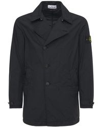 "Stone Island Trench-coat ""naslan Light Watro"" - Noir"
