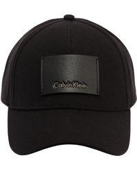 CALVIN KLEIN 205W39NYC - Cappello Baseball In Piqué Di Cotone - Lyst
