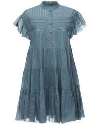 Étoile Isabel Marant Платье Lanikaye Из Смешанной Шерсти - Синий
