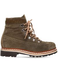 Tabitha Simmons 30mm Bexley Embossed Suede Hiking Boots - Multicolour