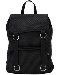 Raf Simons Rs Topload Loop Backpack - Black