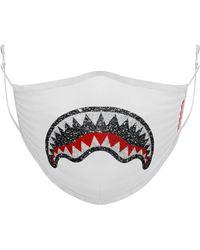 """Sprayground Fashion-maske """"trinity 2.0"""" - Weiß"""