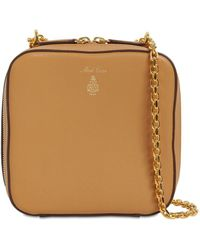 Mark Cross Rose Smooth Leather Bag - Natural