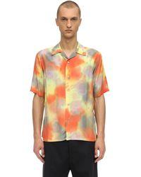 Ambush Chemise Hawaïenne Effet Tie & Die - Multicolore