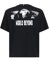 McQ Genesis Ii World Beyond プリントtシャツ - ブラック