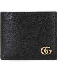 Gucci Gg Marmont Classic レザーウォレット - ブラック