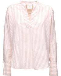 Forte Forte Рубашка Из Смешанного Хлопка - Розовый