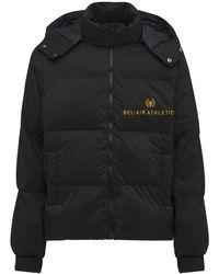 BEL-AIR ATHLETICS Academy Nylon Down Jacket - Black
