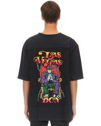Warren Lotas Oversized Las Vegas Patch T-shirt - Black