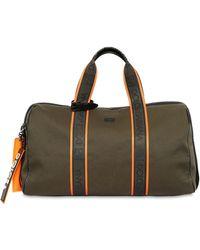 0d7cb8d7bd07 Dolce   Gabbana - Logo Cotton Canvas Duffle Bag - Lyst