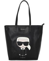 Karl Lagerfeld Сумка-тоут K/ikonik - Черный