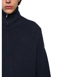 Balenciaga Oversized Aus Woll/baumwollmischung - Mehrfarbig