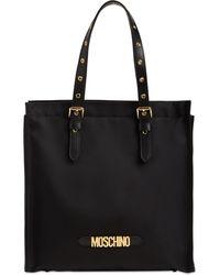Moschino - キャンバストートバッグ - Lyst